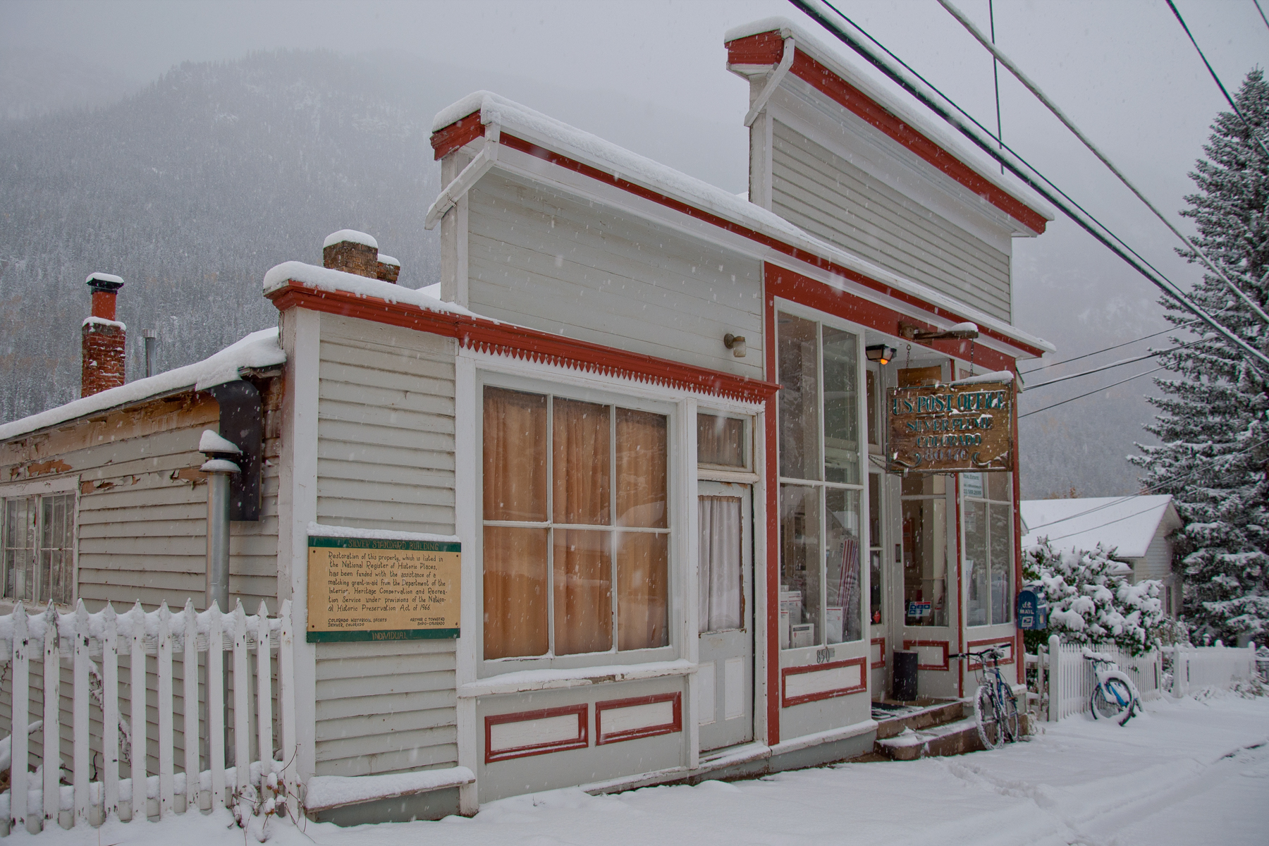 The Historic Silver Plume Post Office